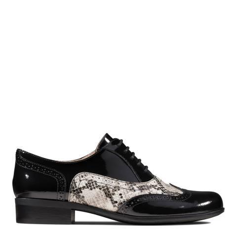Clarks Black Snake Hamble Oak Brogue Shoes