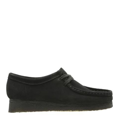 Clarks Originals Black Suede Wallabee Moccasin Shoes