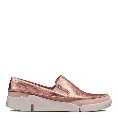 Clarks Blush Metallic Tri Step Sport Shoes