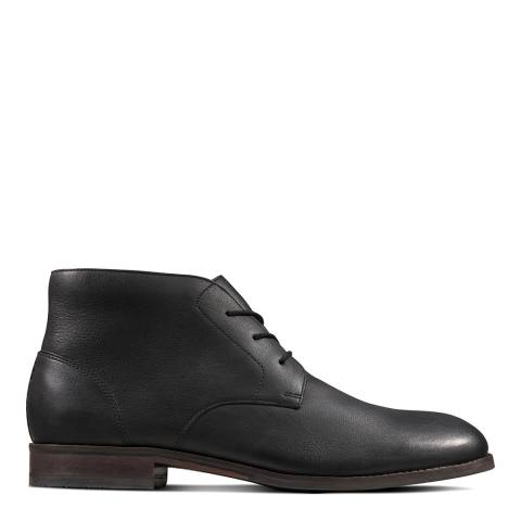Clarks Back Leather Flow Top Chukka Boots