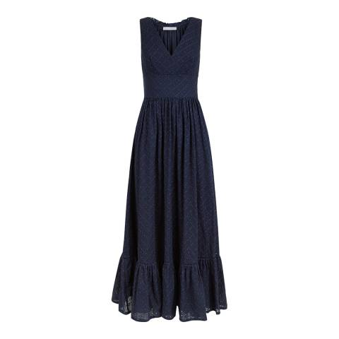 Heidi Klein Navy New Haven Maxi Dress