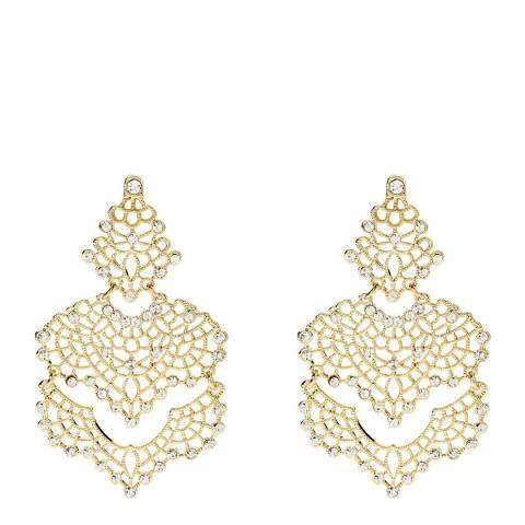Amrita Singh Gold Teardrop Earrings