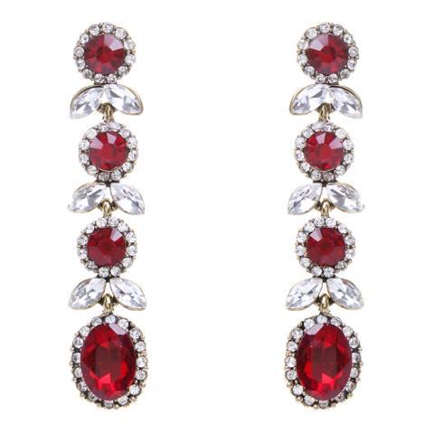 Amrita Singh Ruby Teardrop Earrings