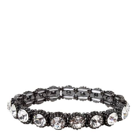 Amrita Singh Gunmetal Embellished Bracelet