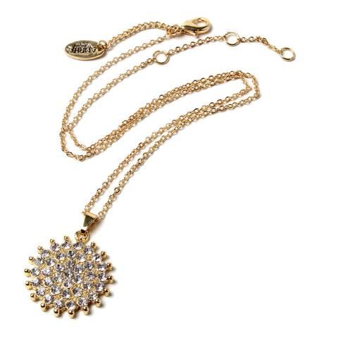 Amrita Singh Gold/Clear Pendant Necklace