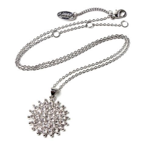 Amrita Singh Silver/Clear Pendant Necklace