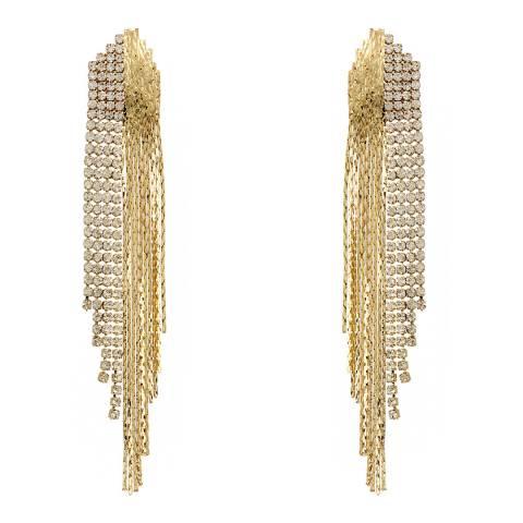 Amrita Singh Gold Chain Earrings