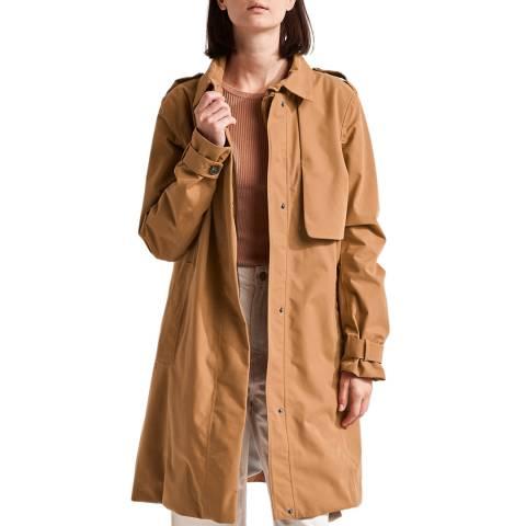Didriksons Brown Waterproof Coat