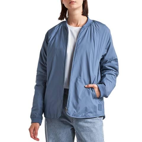 Didriksons Blue Reversible Lightweight Jacket