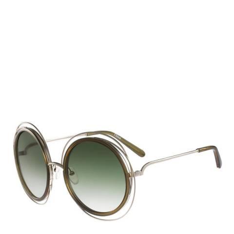 Chloe Women's Gold/Green Chloe Sunglasses 58mm