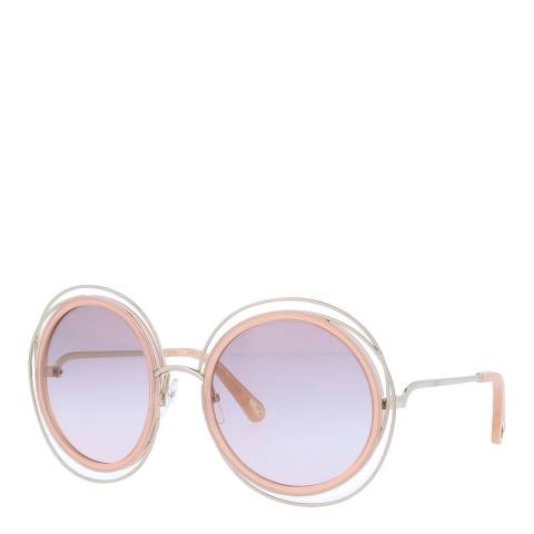 Chloe Women's Lilac/Pink Chloe Sunglasses 58mm