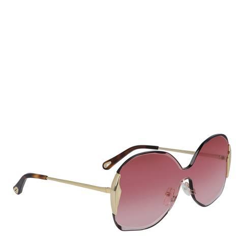Chloe Women's Pink/Gold Chloe Sunglasses 59mm