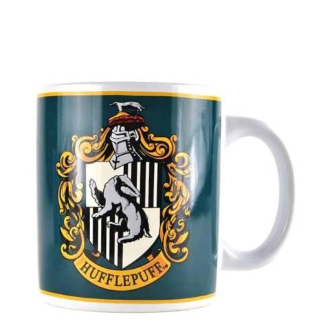 Harry Potter Navy Hufflepuff Crest Mug