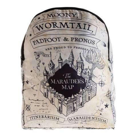 Harry Potter Grey Harry Potter Marauders Foldable Backpack