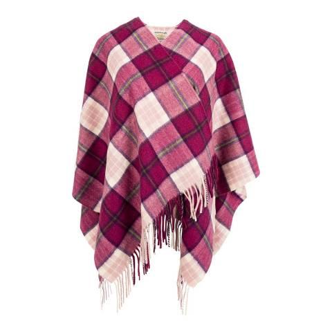 Edinburgh Cashmere Billit Pink Cashmere Mini Cape