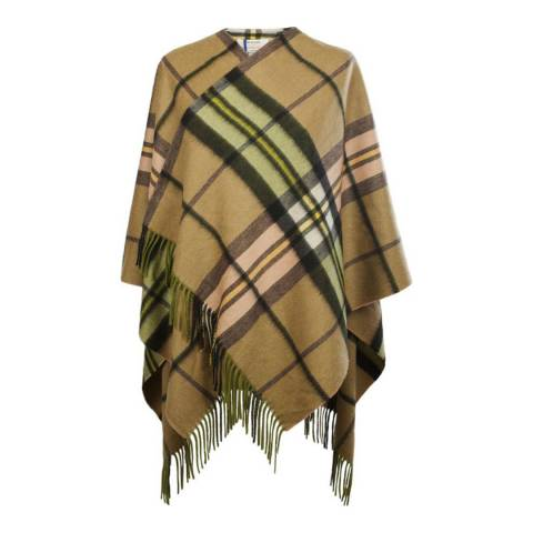 Edinburgh Cashmere Raspberry Gold Cashmere Mini Cape