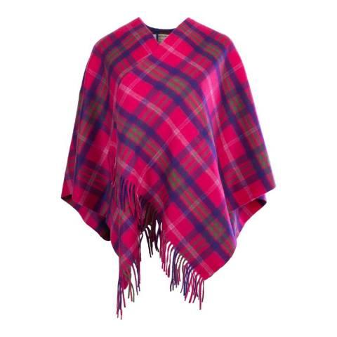 Edinburgh Cashmere Taransay Pink Cashmere Mini Cape