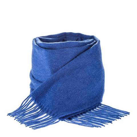 Edinburgh Cashmere Soft Denim Cashmere Scarf