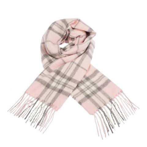 Edinburgh Cashmere Thomson Pale Pink Cashmere Scarf