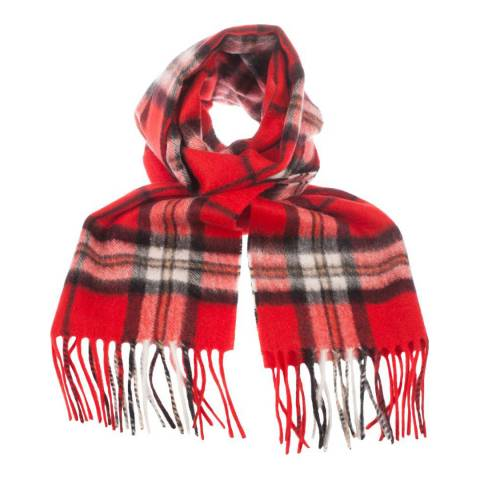 Edinburgh Cashmere Thomson Red Cashmere Scarf