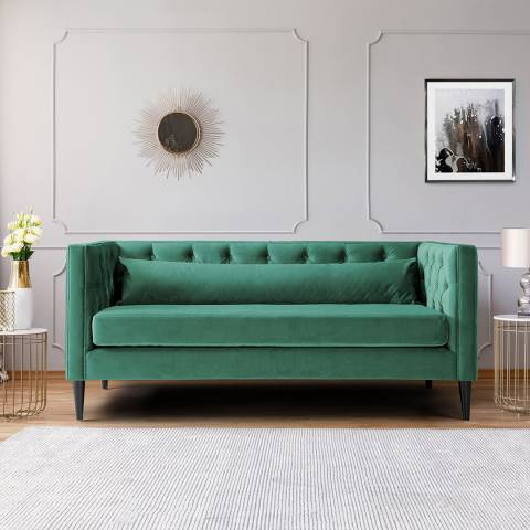 The Great Sofa Company Savoy Two Seater Velvet Jasper