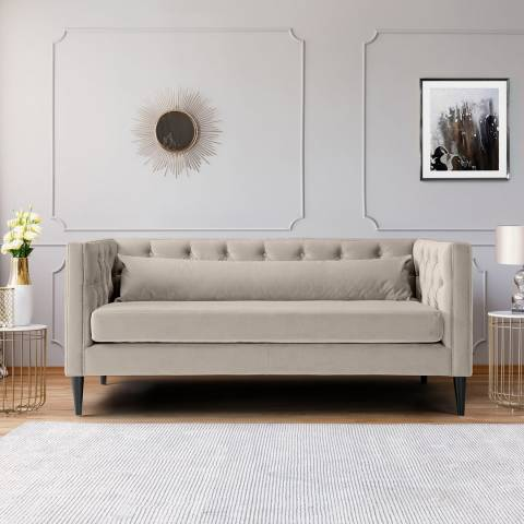 The Great Sofa Company Savoy Two Seater Velvet Putty