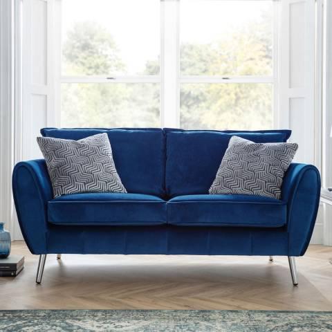 The Great Sofa Company Navy Milano 2 Seater Sofa