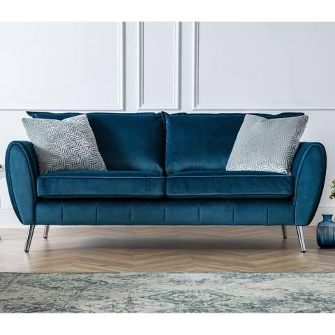 The Great Sofa Company Peacock Milano 3 Seater Sofa
