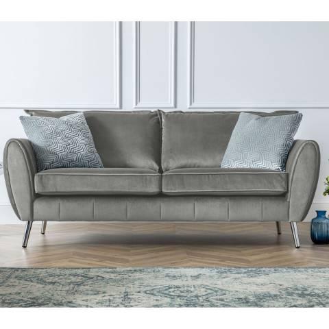 The Great Sofa Company Milano 3 Seater Sofa Malta Grey