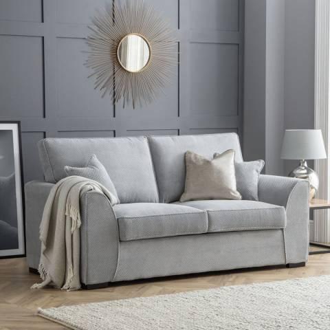The Great Sofa Company Grey Dallas 2 Seater Sofa