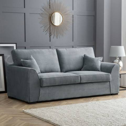 The Great Sofa Company Dallas 3 Seater Sofa Dot Charcoal