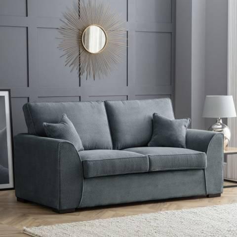 The Great Sofa Company Dallas 2 Seater Sofa Dot Charcoal