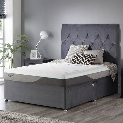 Aspire Furniture Small Double Bamboo Memory Mattress