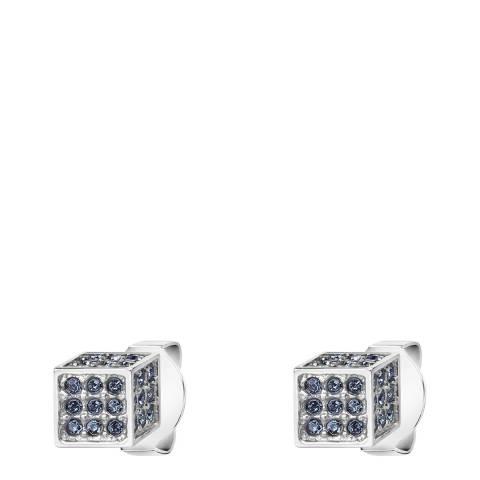 Calvin Klein Silver Grey Swarovski Rocking Stud Earrings