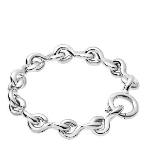 Calvin Klein Silver Jeans Link Bracelet