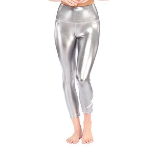 Electric Yoga Silver Limitless Shine Bolt 7/8 Leggings
