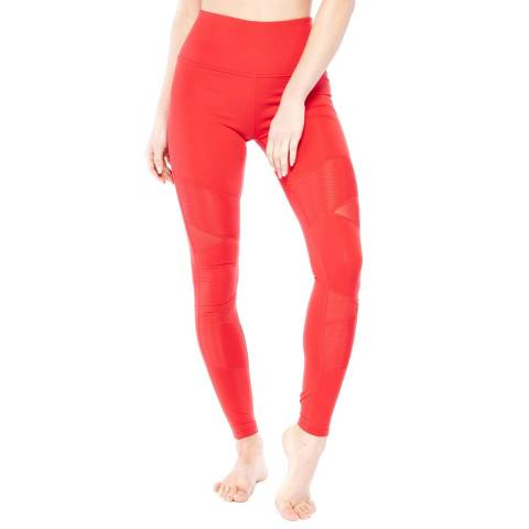 Electric Yoga Red Feeling Yourself Leggings