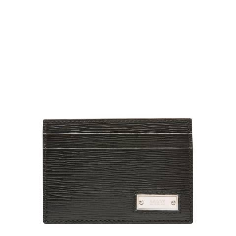 BALLY Black Berna Business Card Holder