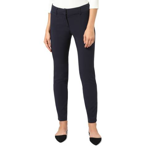 STEFANEL Navy Skinny Stretch Leggings