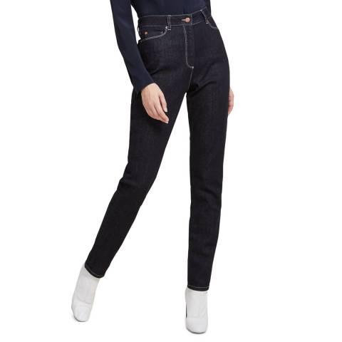 STEFANEL Navy Skinny Fit Jeans