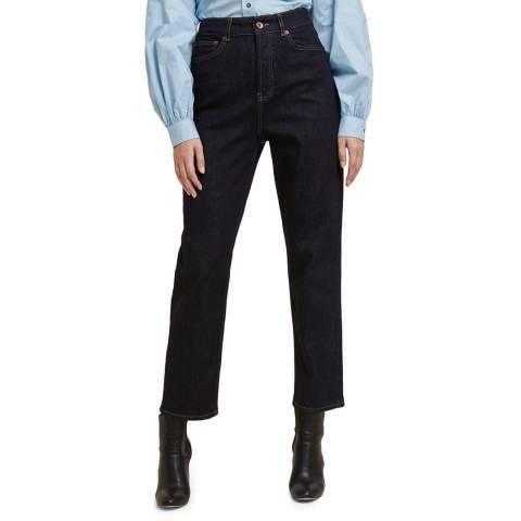 STEFANEL Dark Blue Straight Leg Jeans