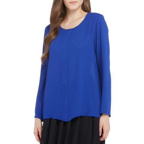 STEFANEL Cobalt Blue Blouse