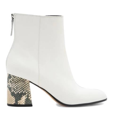 Dolce Vita White Vidal Ankle Boot