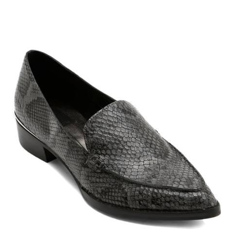 Dolce Vita Grey Arlene Snake Print Loafers