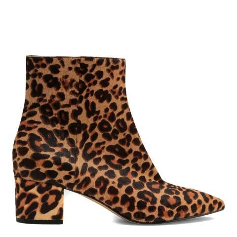 Dolce Vita Dark Leopard Bel Ankle Boot
