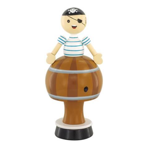 Ulysse Pirate Musical Figurine