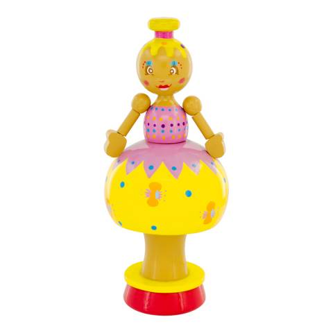 Ulysse Yellow Doll Musical Figurine