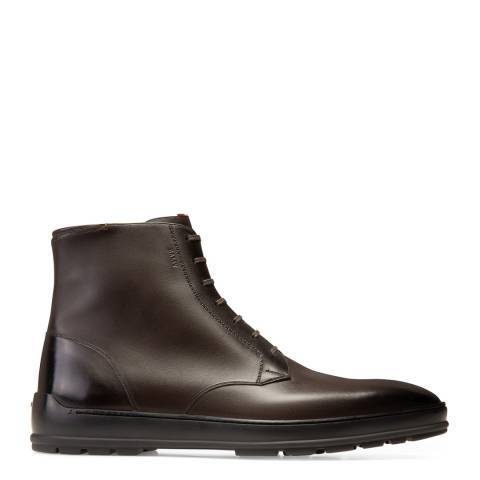 BALLY Dark Brown Reingold Ankle Boots