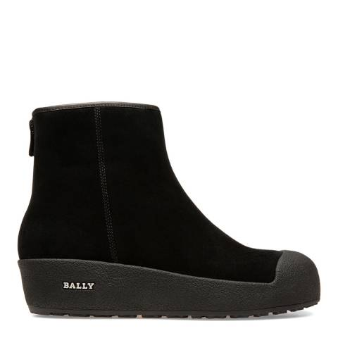 BALLY Black Suede Guard II Boots