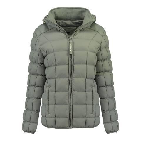 Canadian Peak Girl's Light Grey Bambolineak Parka Jacket